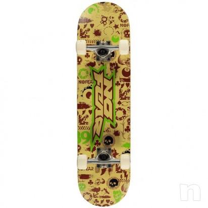 NOFEAR Skateboard  foto-10009