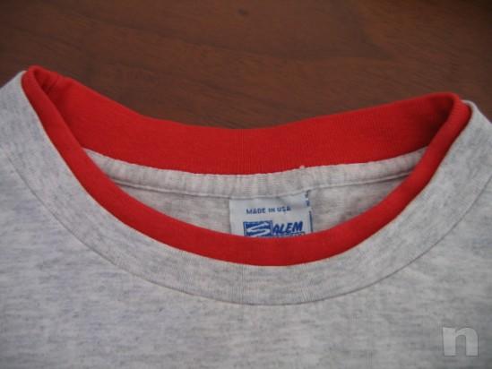 """T-Shirt SALEM Basket NBA Vintage """"CHICAGO BULLS"""" - L foto-18258"""