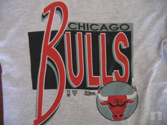 """T-Shirt SALEM Basket NBA Vintage """"CHICAGO BULLS"""" - L foto-18256"""