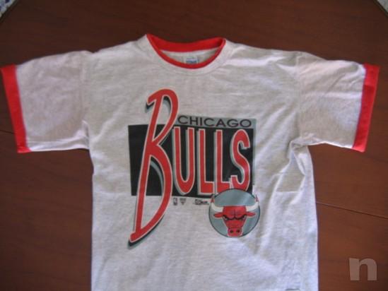 """T-Shirt SALEM Basket NBA Vintage """"CHICAGO BULLS"""" - L foto-10011"""
