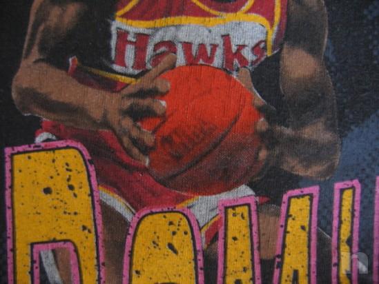 "T-Shirt Basket NBA Vintage ""DOMINIQUE WILKINS"" Atlanta Hawks - L foto-18278"