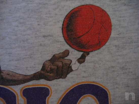 "T-Shirt Basket NBA Vintage ""Magic Johnson"" L.A. LAKERS - S foto-18336"