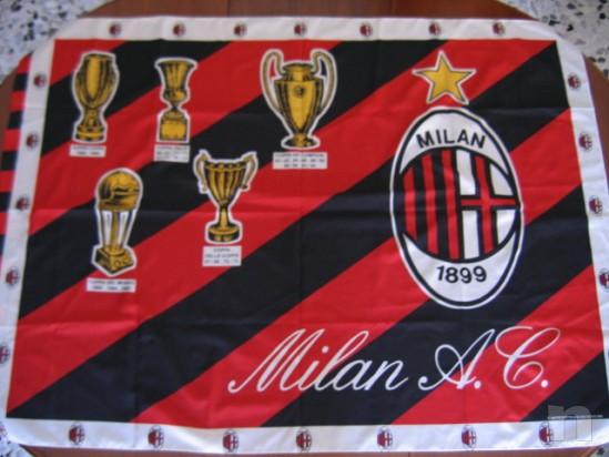 Bandiera MILAN Vintage 1995 - 128X94 Cm. foto-10079