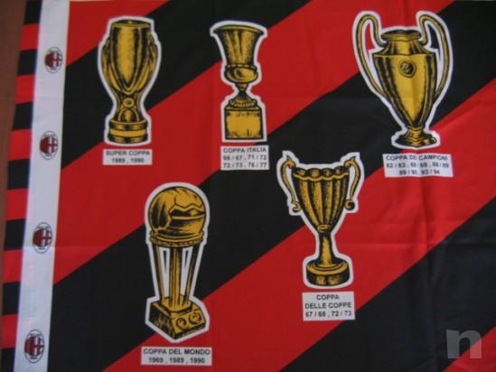 Bandiera MILAN Vintage 1995 - 128X94 Cm. foto-18428