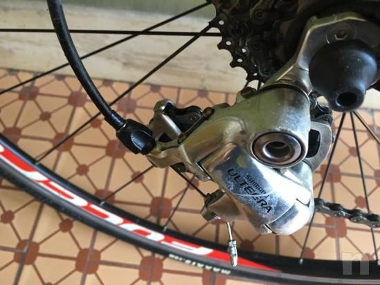 Bicicletta corsa tg S look 565 carbonio foto-18538