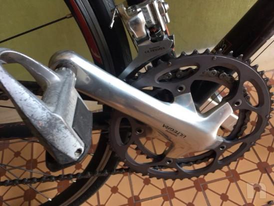 Bicicletta corsa tg S look 565 carbonio foto-18539