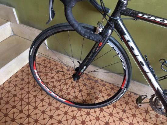 Bicicletta corsa tg S look 565 carbonio foto-18537