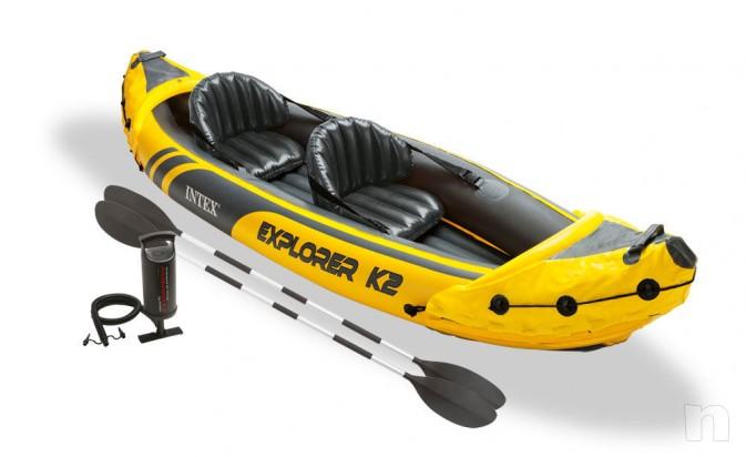 Kayak canotto canoa gonfiabile Intex Explorer K2 c  foto-1020
