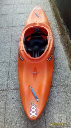 Kayak da fiume foto-10231
