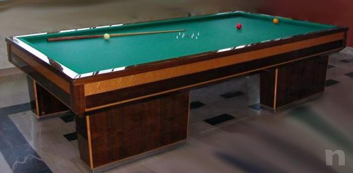 tavolo hartes, porta stecche, palle stecche, segnapunti elettrico e manuale foto-10306