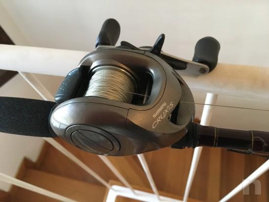 Canna da casting Airrus Ultra XL con mulinello shiimano cruxis foto-19053