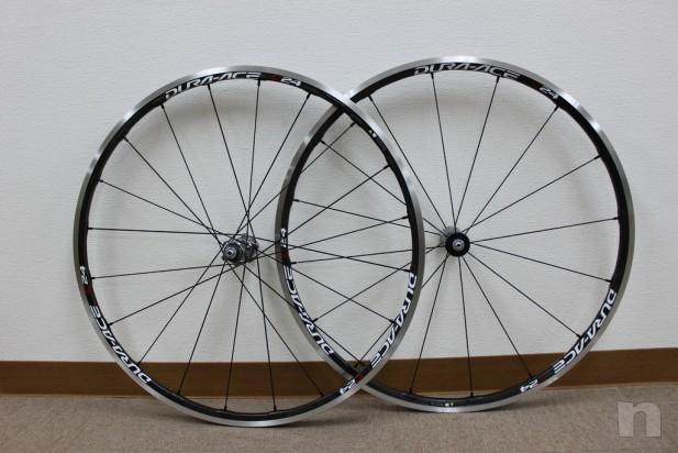 Cerchi Shimano Durace wh9000 c24 carbon foto-10398