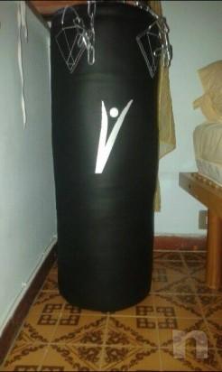 sacco boxe 30kg + fasce leone  foto-1049