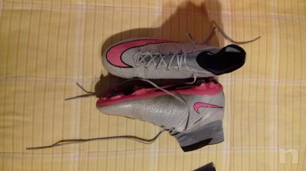 Nike superfly alte, grigie e rosa, n. 39 foto-10701