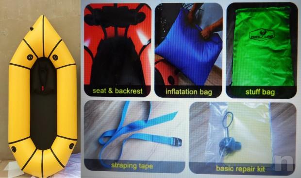 Packraft nuovo alta qua lita oc asione kayak canoa foto-10711
