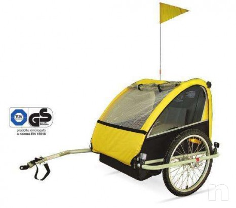 carrello porta bimbi bicicletta foto-10754