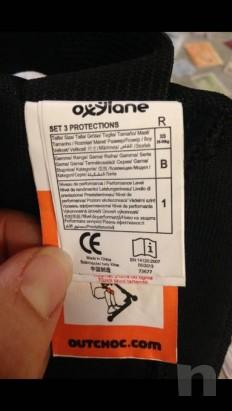 Set protezione ginocchiere, paragomiti/polsi foto-20018