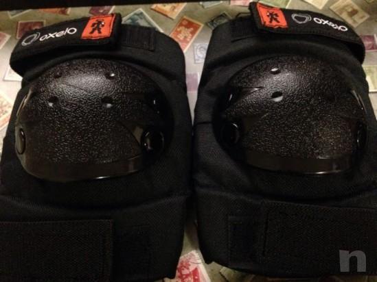 Set protezione ginocchiere, paragomiti/polsi foto-20017