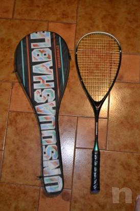 Racchetta squash Unsquashable Vintage foto-1082