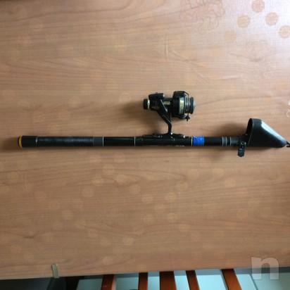 Canna da pesca con molinello foto-10893