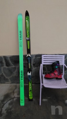 Sci alpinismo completo di scarponi foto-10961