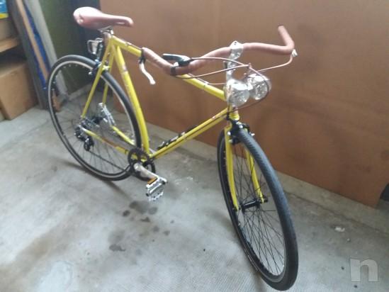 Bicicletta completamente artigiaale e particolare foto-20823