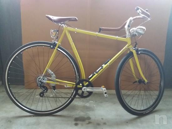 Bicicletta completamente artigiaale e particolare foto-11224