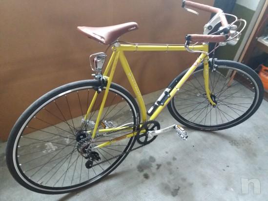 Bicicletta completamente artigiaale e particolare foto-20824