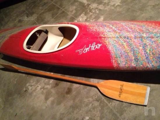 Kayak in vetroresina foto-1137