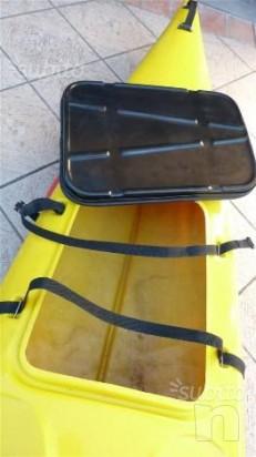 Canoa Mariner con attrezzatura, tenuta benissimo foto-11440