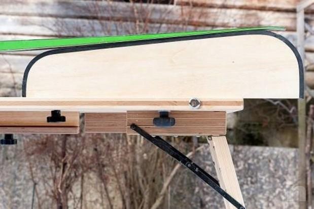 Banco o tavolo per sciolinatura e paraffinatura  foto-21263