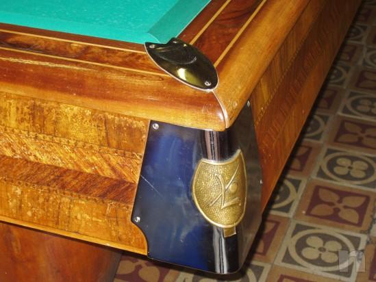 Tavolo da Biliardo LONGONI, mod. HARTES degli anni '60 riscaldato. foto-1670