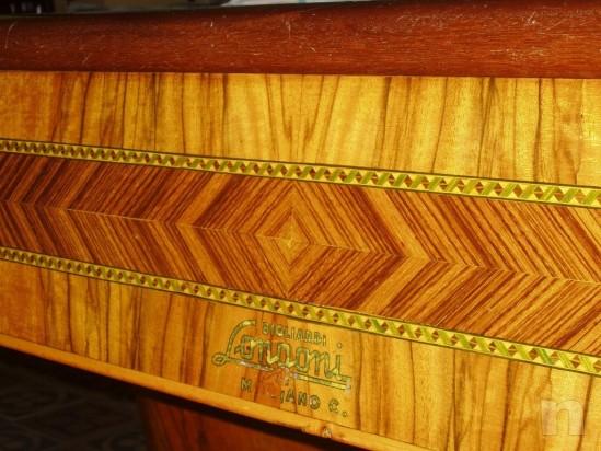 Tavolo da Biliardo LONGONI, mod. HARTES degli anni '60 riscaldato. foto-1671