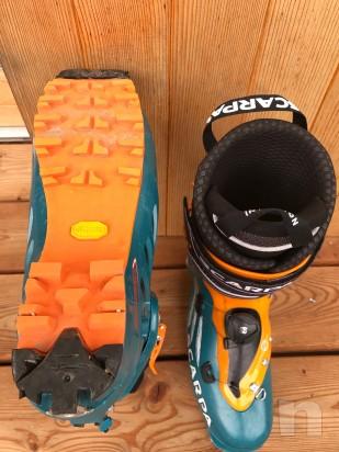 vendo scarpone sci alpinismo della scarpa modello F1 misura 28,5 foto-21540