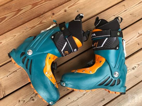 vendo scarpone sci alpinismo della scarpa modello F1 misura 28,5 foto-21539