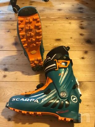 vendo scarpone sci alpinismo della scarpa modello F1 misura 28,5 foto-21541