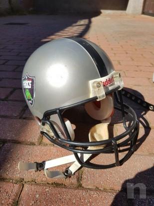Vendo attrezzatura football americano taglia M più borsa  foto-21670