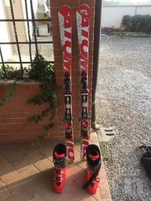 Vendo sci e scarponi foto-11744