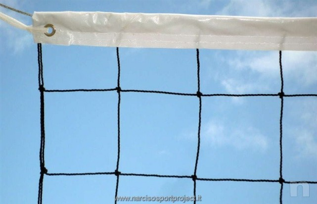 Vende Rete da pallavolo volley regolamentare pesante, attrezzatura professionale foto-21888