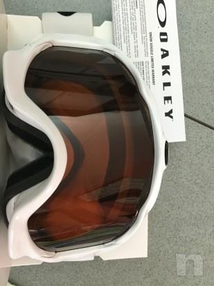 Maschera Oakley twisted polished white foto-11840