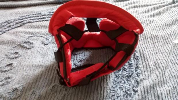 casco protezione boxing rosso Corsport foto-22171