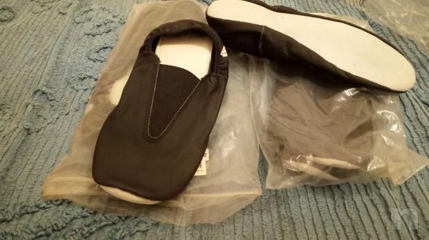 scarpe basse per ballo e palestra in pelle di bufalo foto-22191