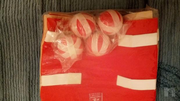 corpetto gioco bambini completo di n 4 palline contatto/lancio (la coppia) foto-22195