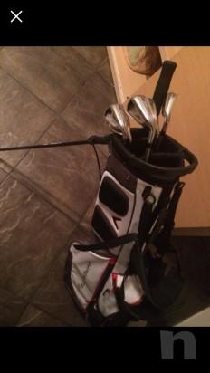 Vendo sacca con 6 maze da golf foto-22226