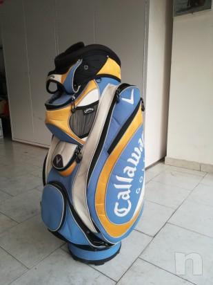 Sacca da golf Callaway come nuova  foto-11990