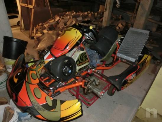 Go Kart Intrepid Cruiser 2012 motore TM K9C Serie Speciale foto-1785