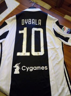Maglietta Divisa Gara Juventus 2017/2018 Home Dybala 10 con Etichetta foto-22487