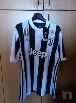 Maglietta Divisa Gara Juventus 2017/2018 Home Dybala 10 con Etichetta foto-12135