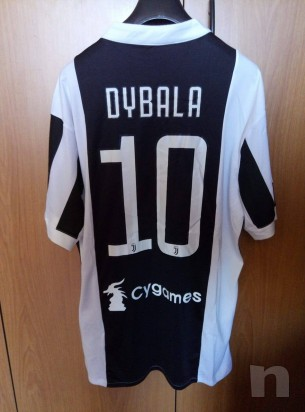 Maglietta Divisa Gara Juventus 2017/2018 Home Dybala 10 con Etichetta foto-22484