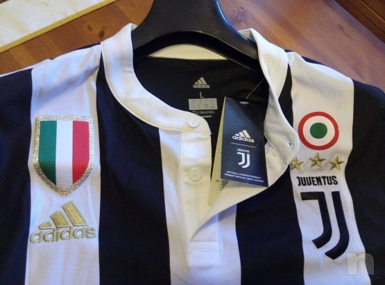 Maglietta Divisa Gara Juventus 2017/2018 Home Dybala 10 con Etichetta foto-22485